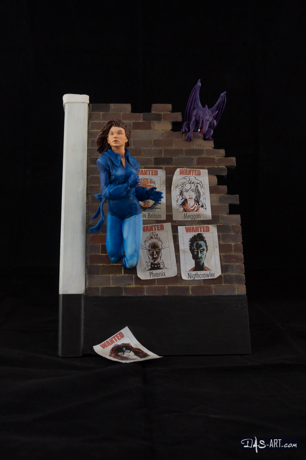 [Custom creation #15] Kitty Pryde diorama - 001 by DasArt
