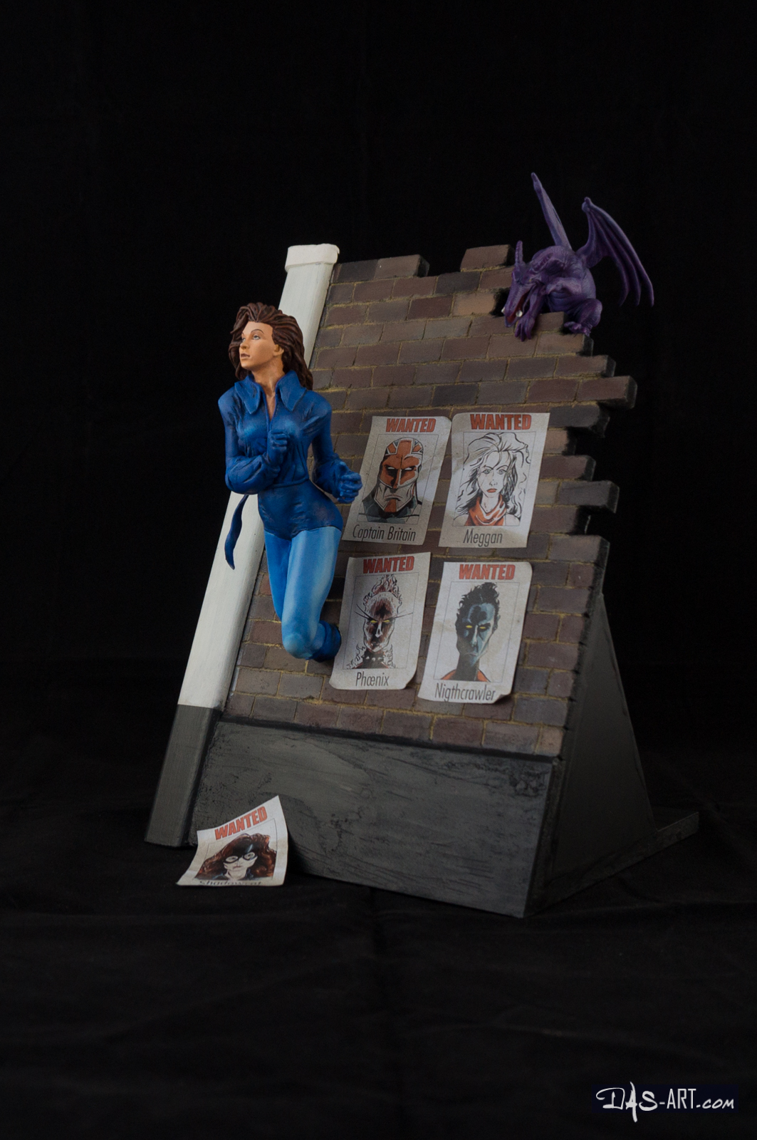 [Custom creation #15] Kitty Pryde diorama - 002 by DasArt