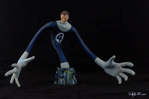 [Garage kit painting #17] Mr. Fantastic bust - 001 by DasArt