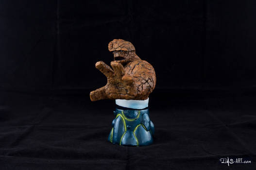 [Garage kit painting #16] The Thing bust - 003