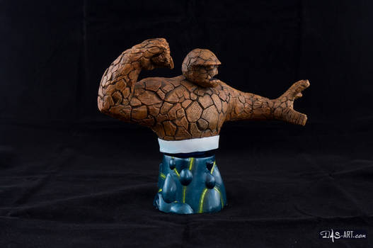 [Garage kit painting #16] The Thing bust - 009