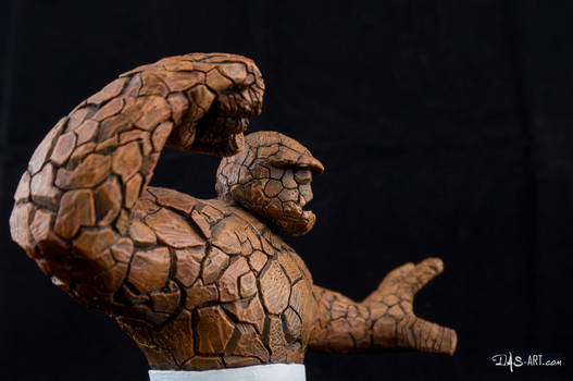 [Garage kit painting #16] The Thing Bust - 011
