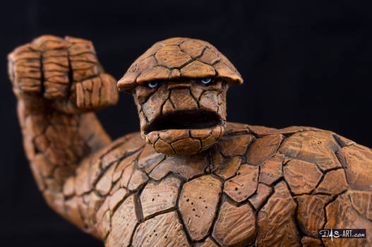 [Garage kit painting #16] The Thing Bust - 012