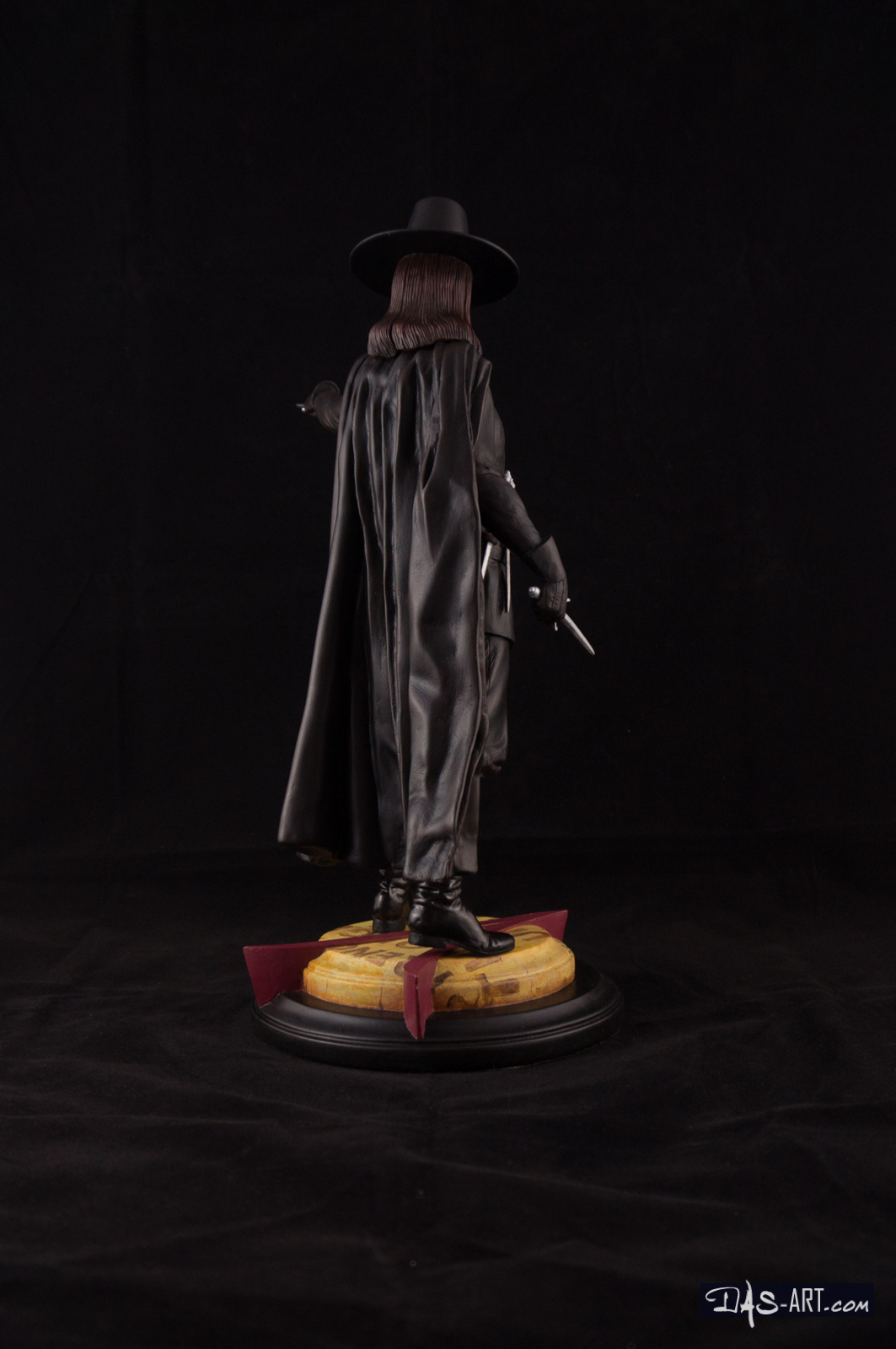 [GK painting #18] V for Vendetta statue - 006 by DasArt