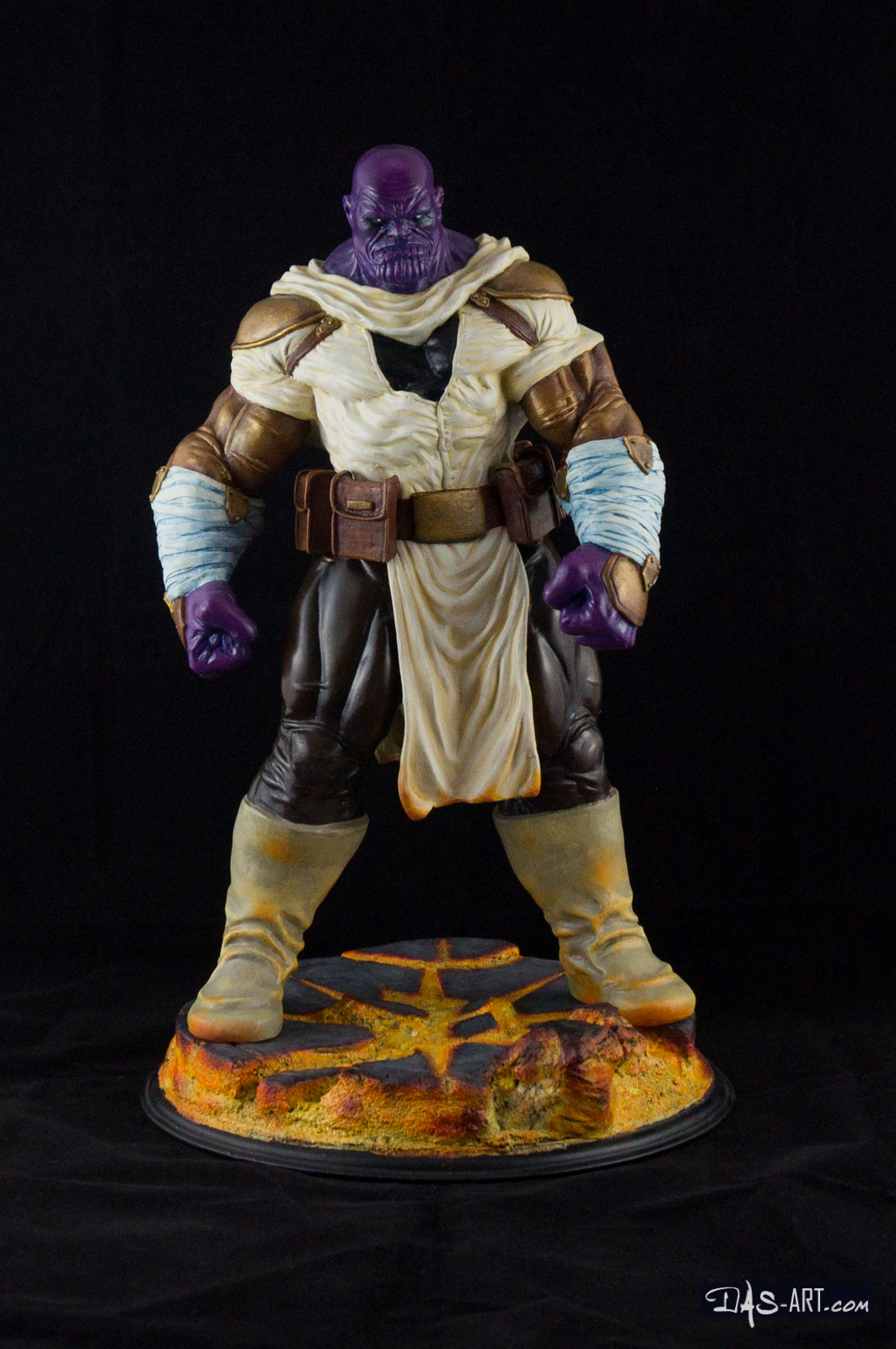 [GK painting #19] Thanos statue - 001 by DasArt
