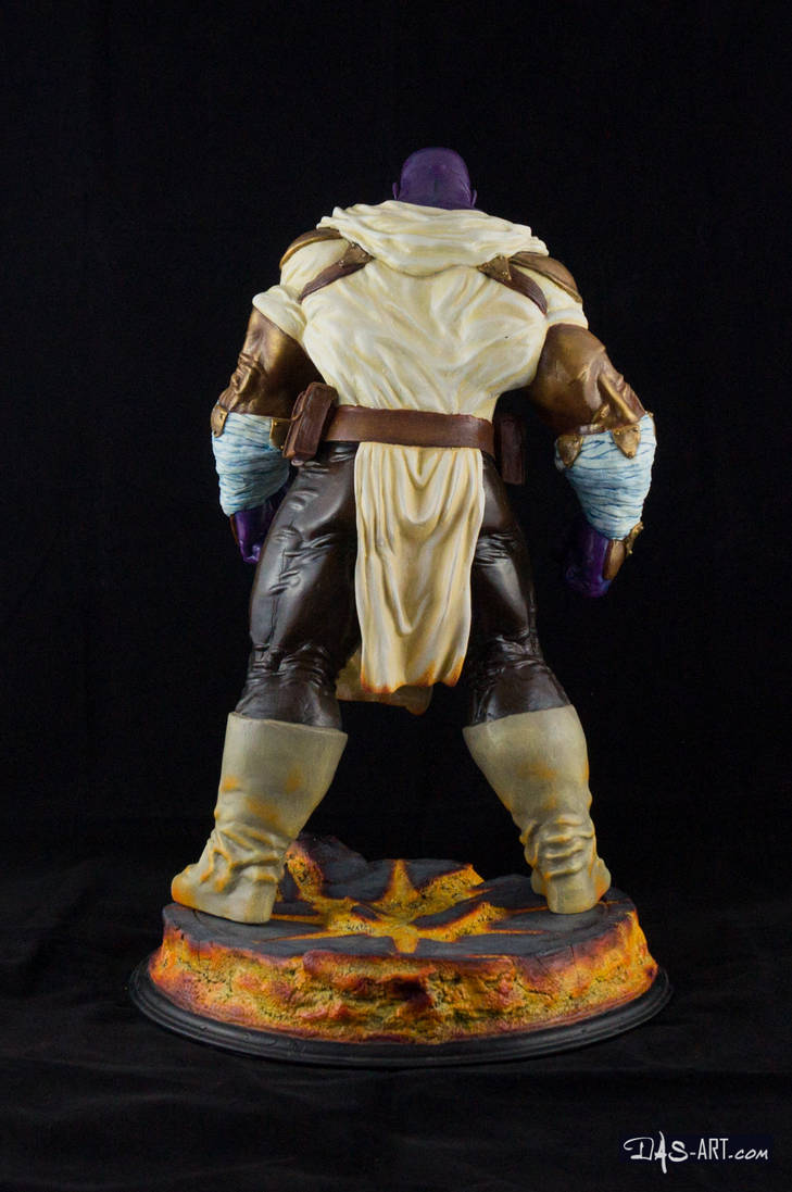 [GK painting #19] Thanos statue - 005 by DasArt