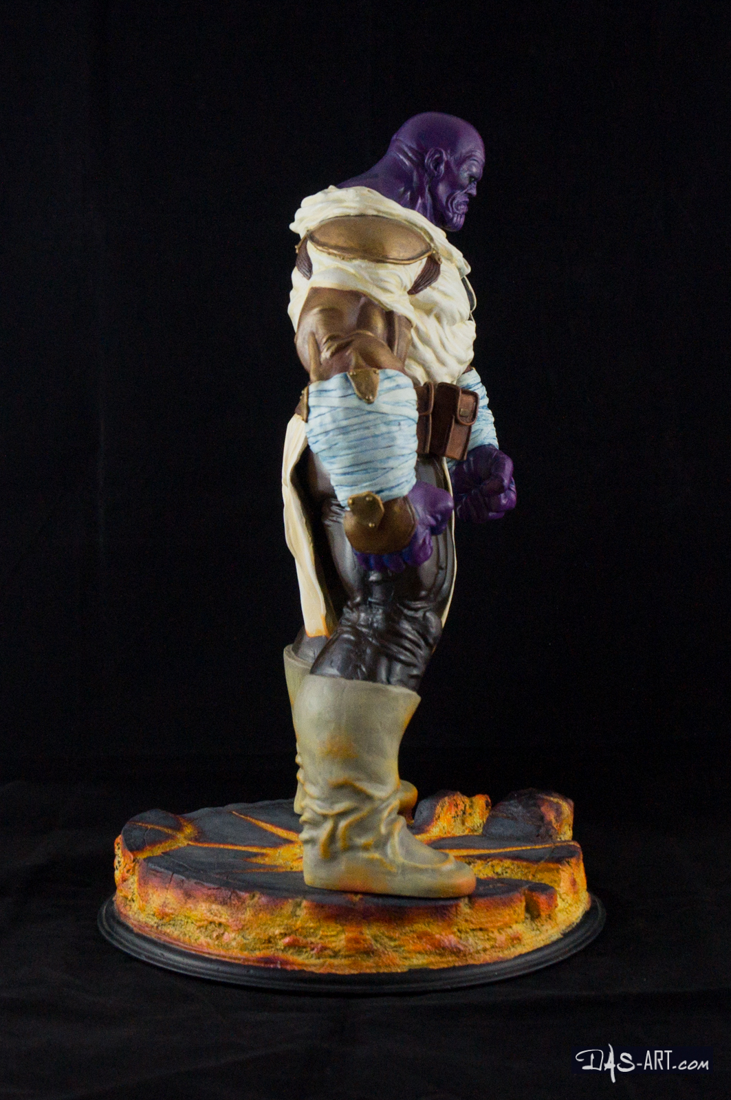 [GK painting #19] Thanos statue - 007 by DasArt