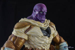 [GK painting #19] Thanos statue - 009 by DasArt