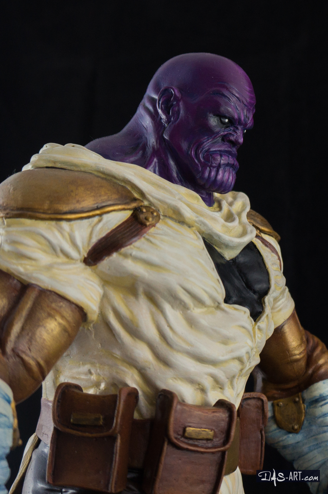 [GK painting #19] Thanos statue - 015 by DasArt