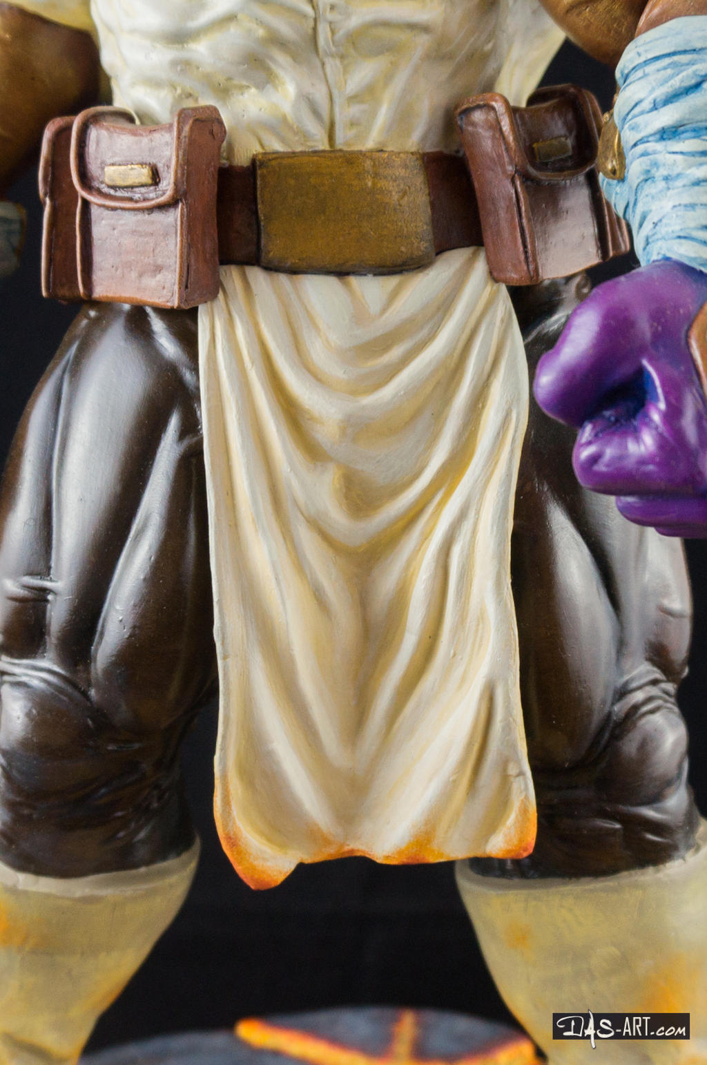 [GK painting #19] Thanos statue - 017 by DasArt