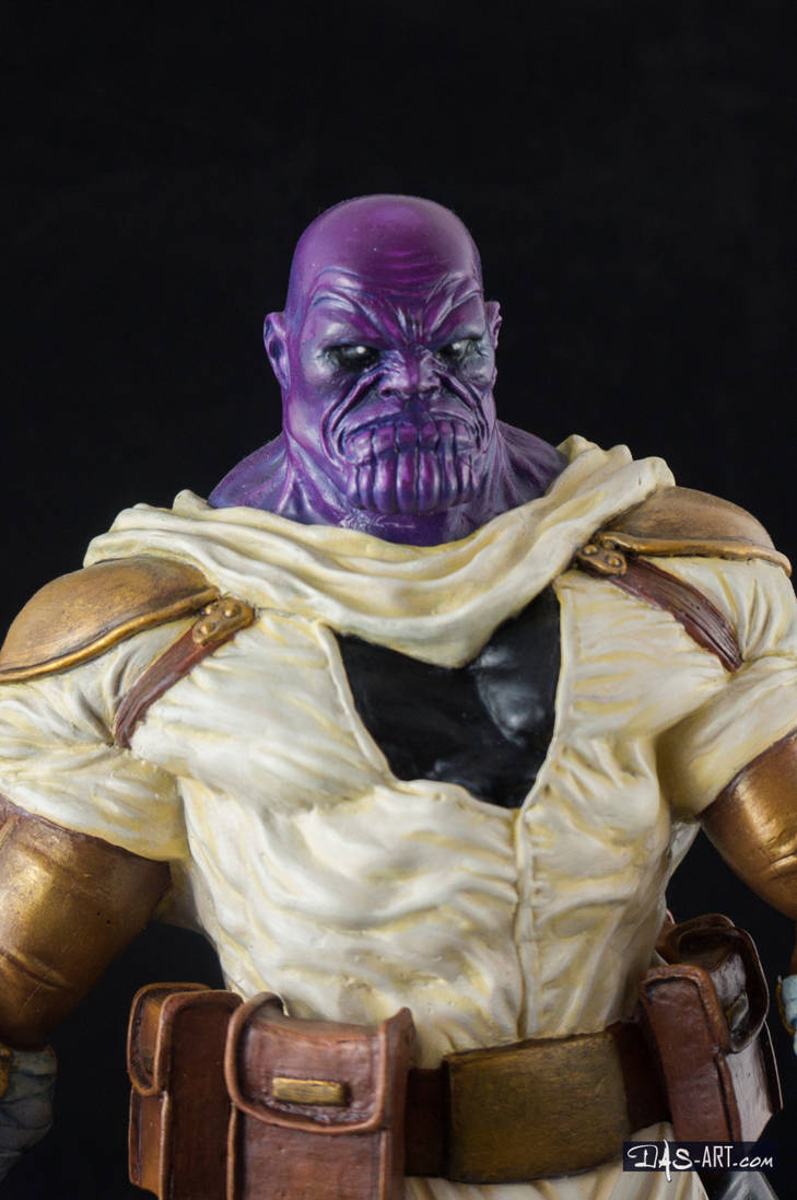 [GK painting #19] Thanos statue - 018 by DasArt