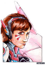 Fan Art: D.Va