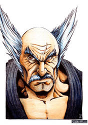Fan Art: Heihachi Mishima