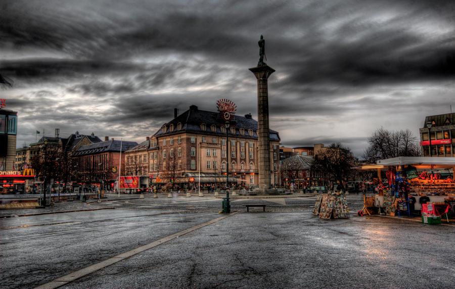 Marketplace Plaza Marketplace_HDR_by_DrySin