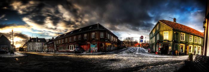 Bakklandet Panorama HDR by DrySin