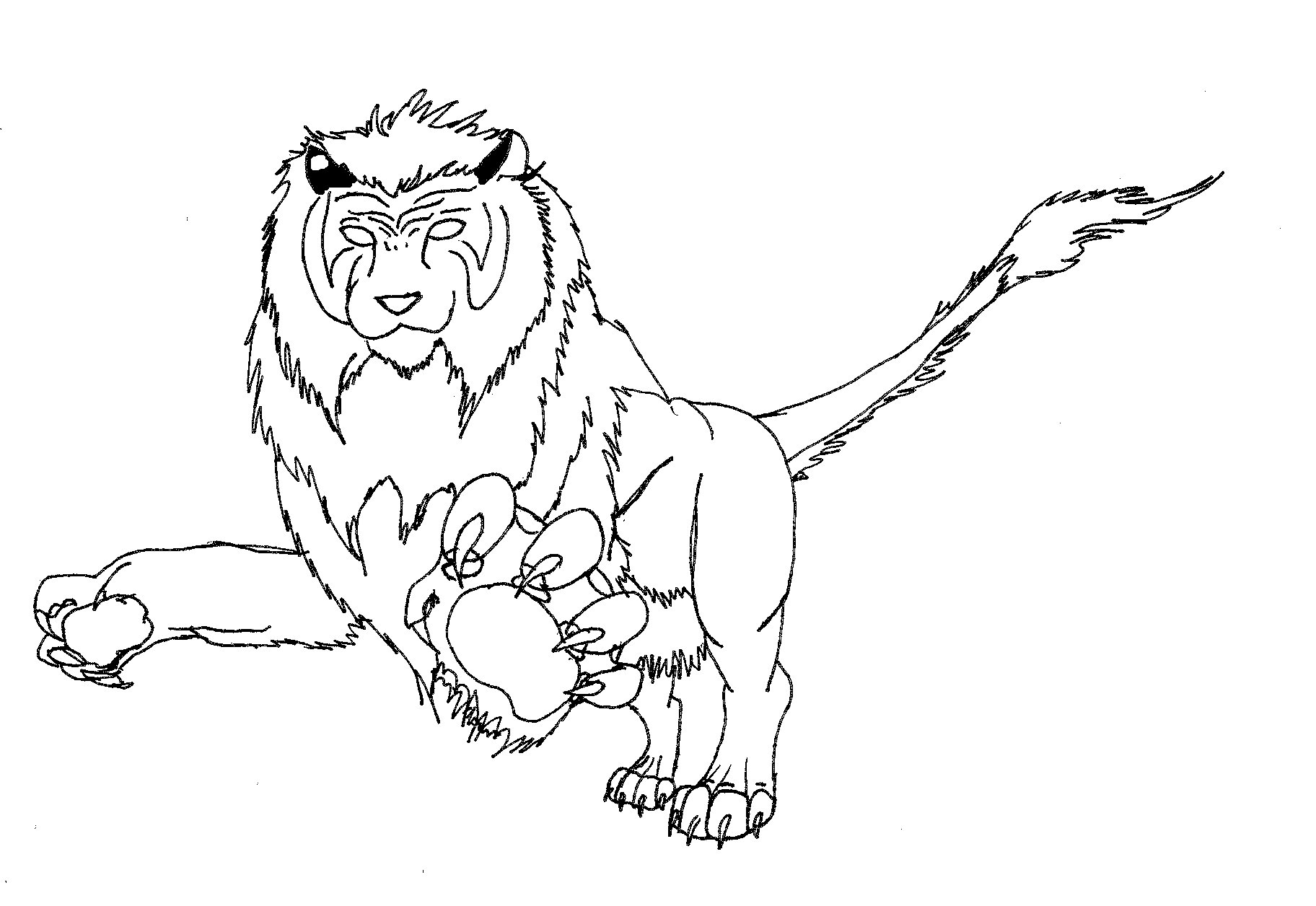 liger coloring pages - photo #34