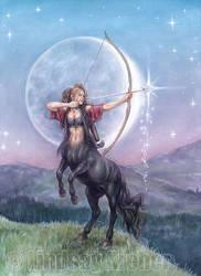 Sagittarius: Shooting Stars by LinzArcher