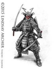 Samurai by LinzArcher