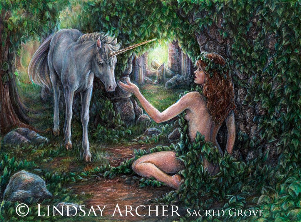 Sacred Grove-Virgo by LinzArcher