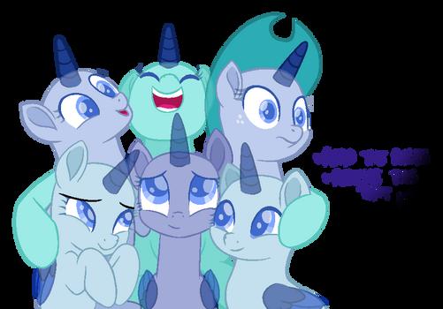 Mlp Base - Group Hug!
