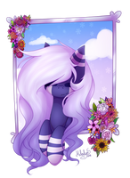 (AT) Flowery Scene by MelodySweetheart