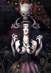 Sherah, goddess of darkness by nemling