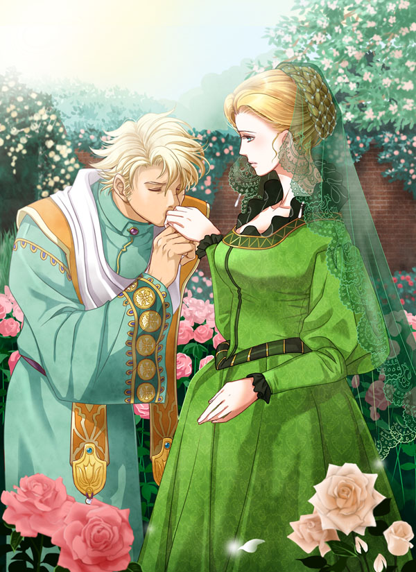 Saga Frontier 2 At a rose garden by nemling on DeviantArt