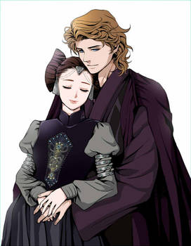 Anakin and Padme