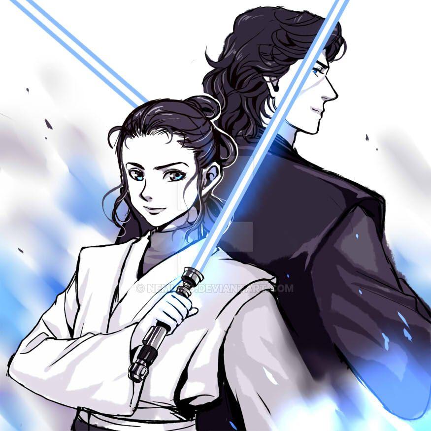 Reylo Jedi AU by nemling
