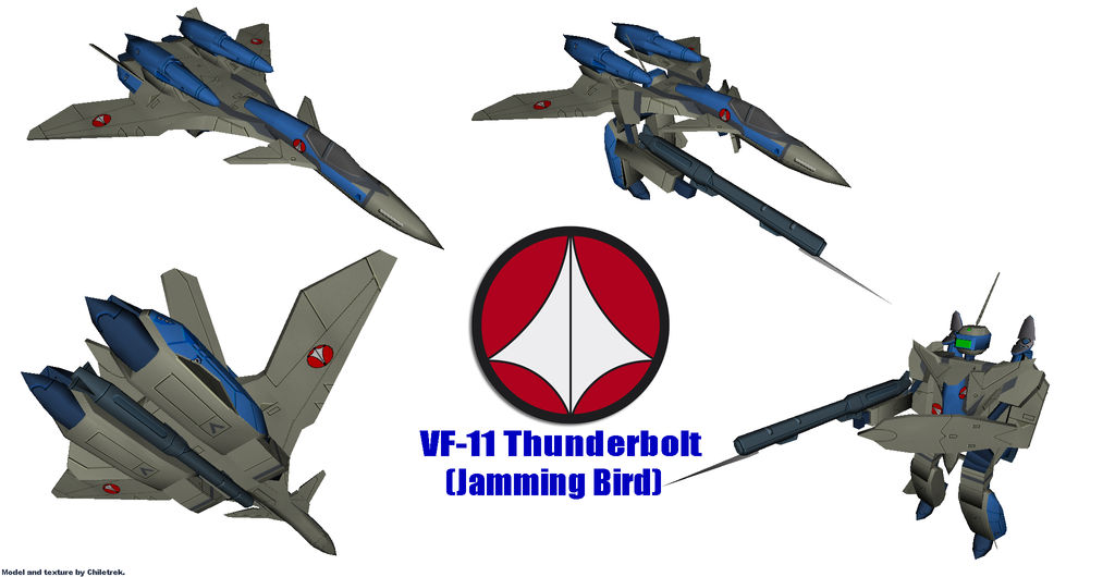 UN Spacy VF-11D (Jamming Bird) by Chiletrek on DeviantArt