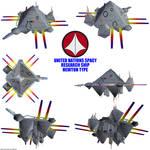UN Spacy Research ship 02 render