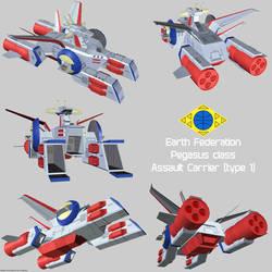 EF Pegasus 1 assault carrier render