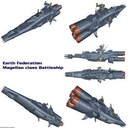 EF Magellan class battleship