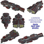 Lantean Caelus Destroyer
