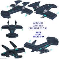 Asgard Chariot class cruiser by Chiletrek