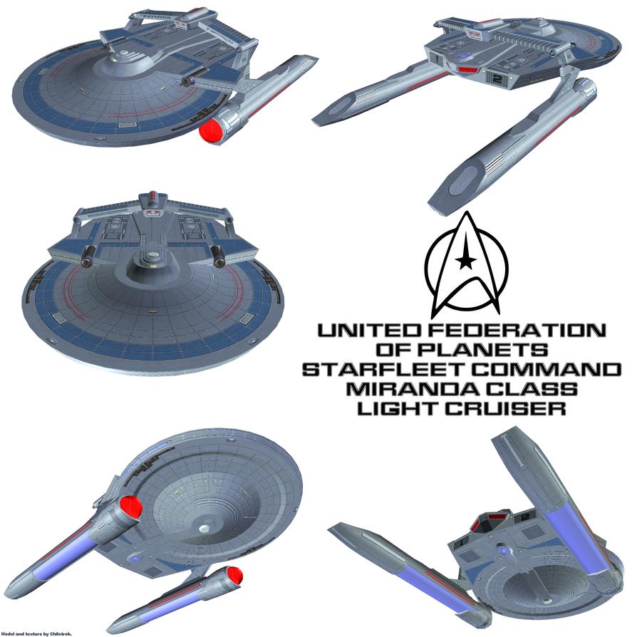 UFP Light Cruiser 1 by Chiletrek