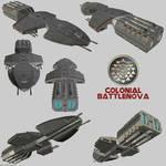 Colonial (TOS) Battlenova render