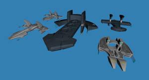 Asgard capital ships preview 01 by Chiletrek
