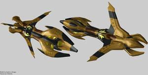 8472 Battleship Render