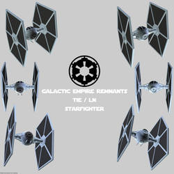Imperial Remnants TIE (1) Fighter