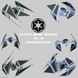 Imperial Remnants TIE (2) Interceptor