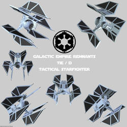 Imperial Remnants TIE (4) Defender
