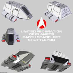 Starfleet Shuttlepod 01 render