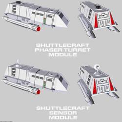 Starfleet Shuttlecraft 01 variants