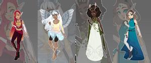 [Auction] Elemental Elves (CLOSED)