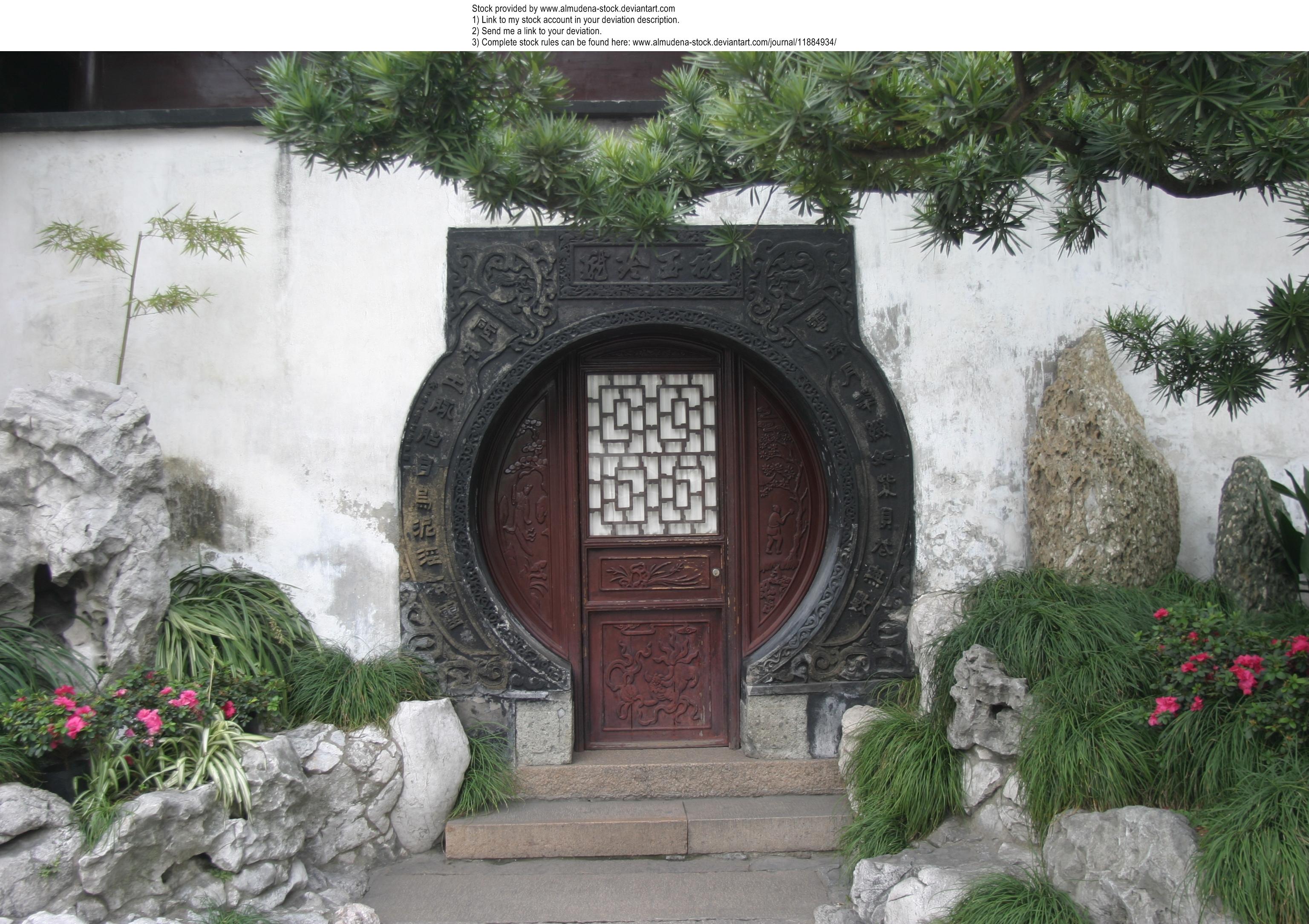 Shanghai door 2 by almudena-stock