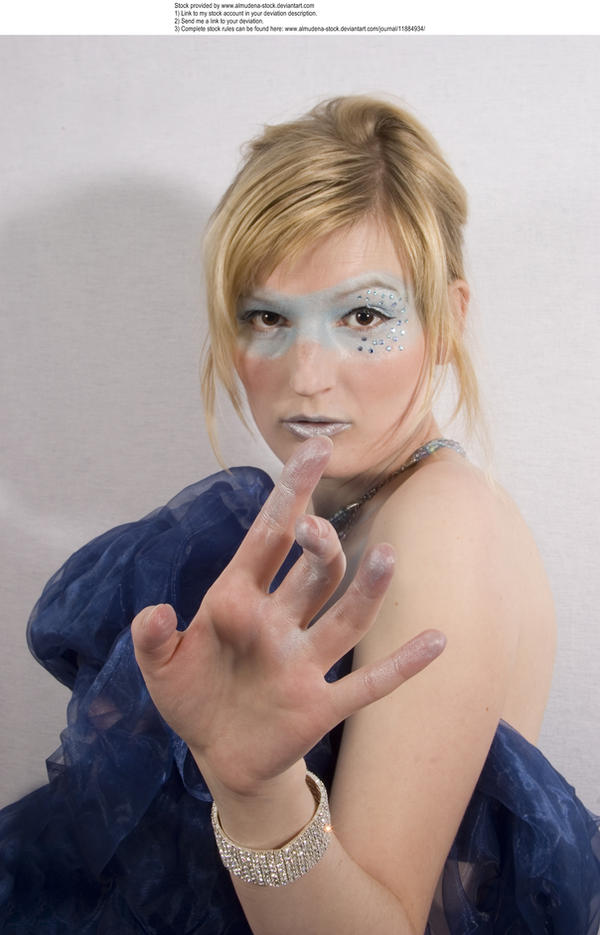 Blue mask 2 by almudena-stock