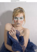 Blue mask 3 by almudena-stock