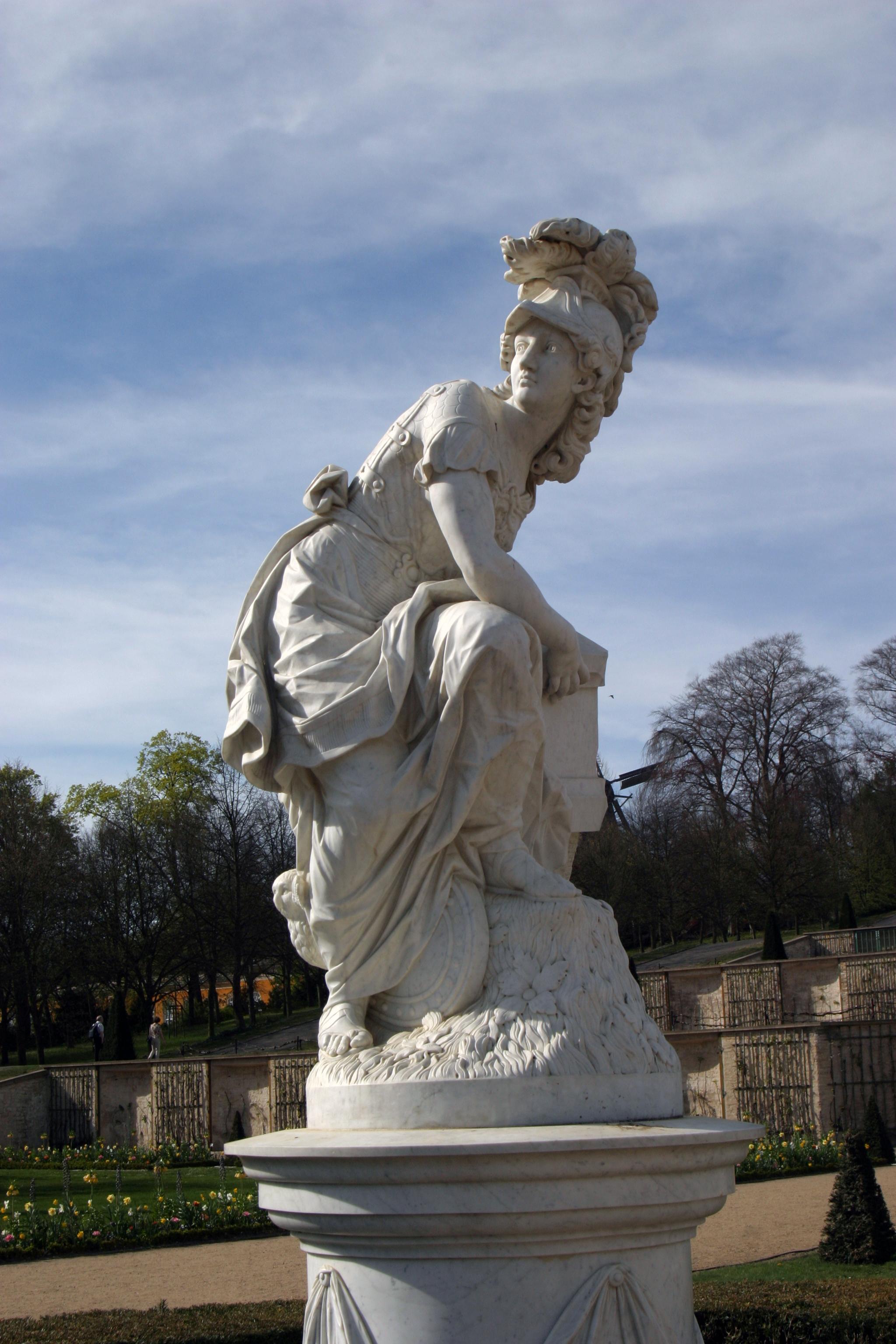 Baroque statue 3 by almudena-stock