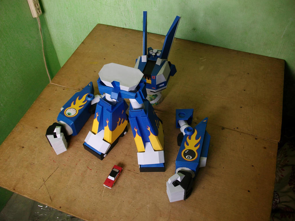 Megas XLR Project:Assemble Stage by MarcGo26